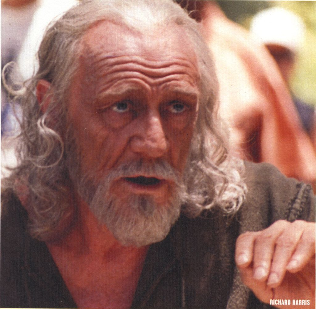 Richard Harris make up Luigi Rocchetti
