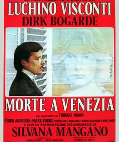 locandina morte a Venezia