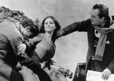 Set Il Gattopardo Luchino Visconti con parrucche Rocchetti