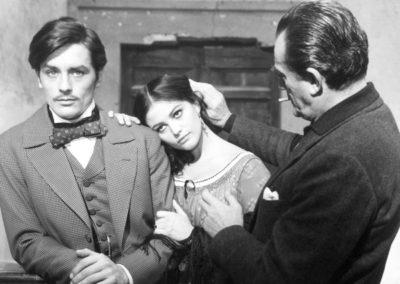 Luchino Visconti dirige Alain Delon e Claudia Cardinale