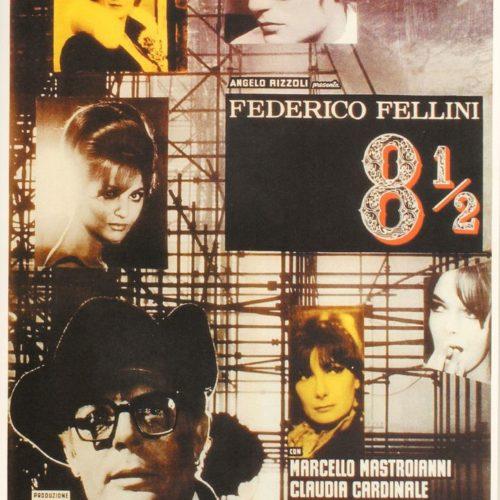 Locandina 8½ di Federico Fellini