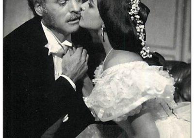 Il Gattopardo con Burt Lancaster e Claudia Cardinale