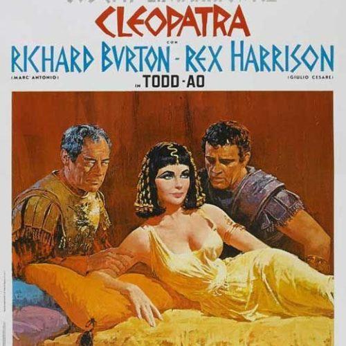 Locandina Cleopatra con Parrucche Rocchetti