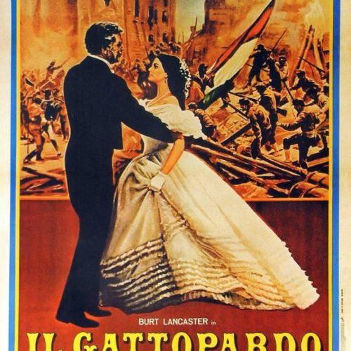Locandina Il Gattopardo Luchino Visconti 1963 con parrucche Rocchetti