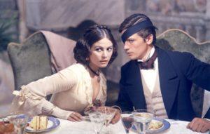 Scena di Il Gattopardo con Claudia Cardinale e Alain Delon