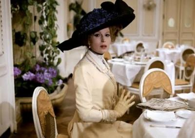 Silvana Mangano in Morte a Venezia. nell'Hotel des Bains a Venezia