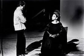 Set di Medea con Pier Paolo Pasolini e Maria Callas
