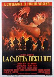 locandina La caduta degli dei di Visconti