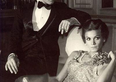 Florinda Bolkan e Helmut Berger in La Caduta degli dei di Visconti