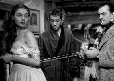 Set del film Senso di Luchino Visconti