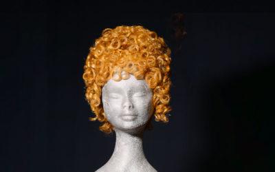 Parrucca bionda per Satyricon