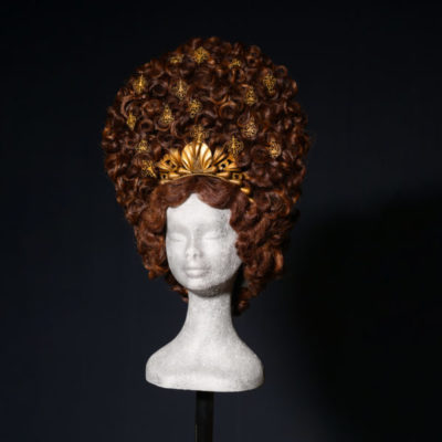 Parrucca Castana scura per Satyricon