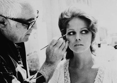 Make-up artist e Claudia Cardinale