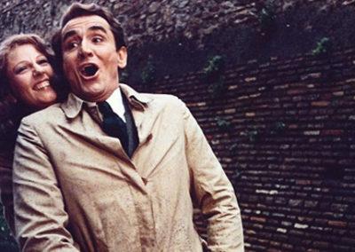 Scena con Vittorio Gassman e Stefania Sandrelli - Trucco Goffredo Rocchetti