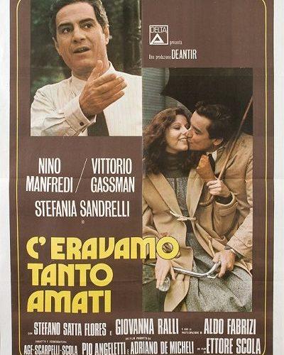 Ceravamo tanto amati Ettore Scola 1974