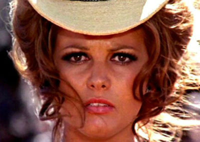 Claudia Cardinale in C'era una volta il West