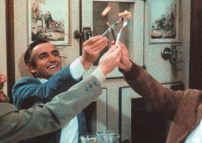 Scena Ceravamo tanto amati di Ettore Scola - Trucco Goffredo Rocchetti