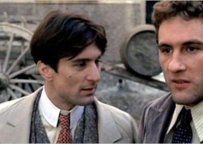 Robert De Niro e Gerard Depardieu in Novecento