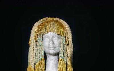 Parrucca Egitto con passamaneria