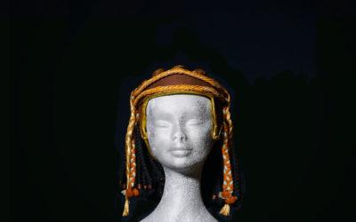 Parrucca Egitto con caschetto in tessuto