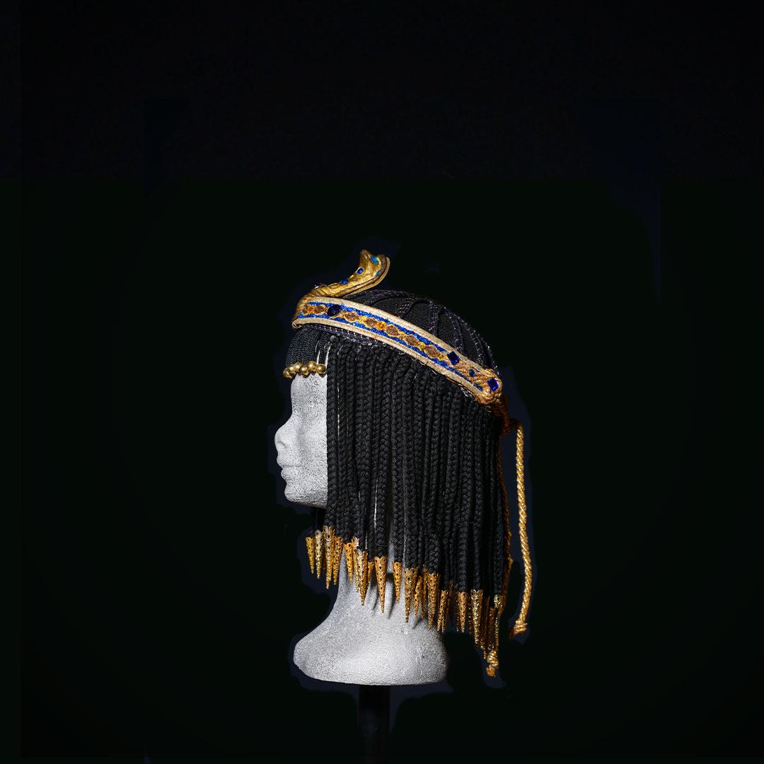 Parrucca Egitto con diadema