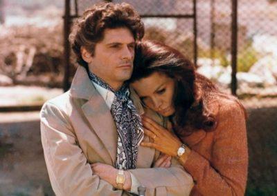 Florinda Bolkan e Tony Musante in una scena del film del 1970