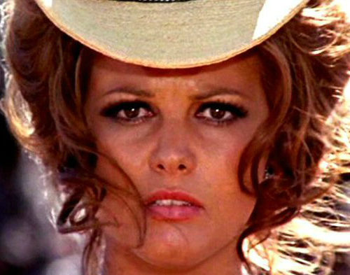 Claudia Cardinale in C'era una volta il West