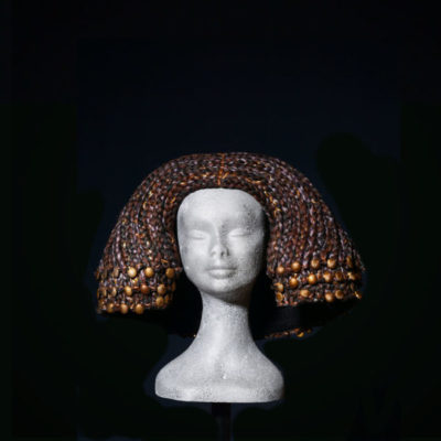 Parrucca Egitto forma trapezoidale