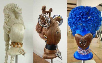 Le nostre parrucche per la collezione di Delfina Delettrez