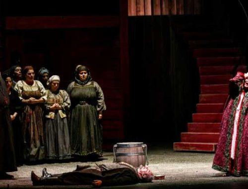 Lady Macbeth secondo Fanny Ardant con trucco di Luigi Rocchetti
