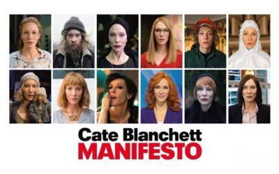 La performance di Cate Blanchett in Manifesto con alcune nostre parrucche