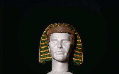 Copricapo Faraone in passamaneria