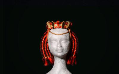 Copricapo con corona Antico Egitto