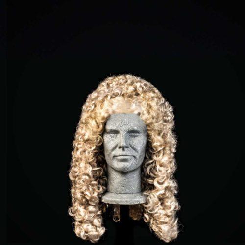 Parrucca del '600 da uomo