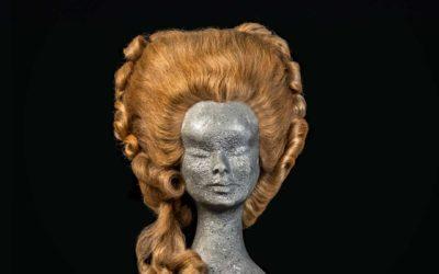 Parrucca '700 stile Maria Antonietta