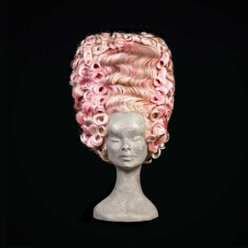 Parrucca '700 rosa
