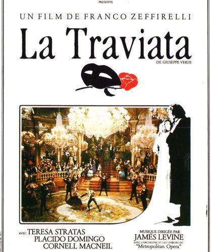 Locandina de La Traviata di Franco Zeffirelli