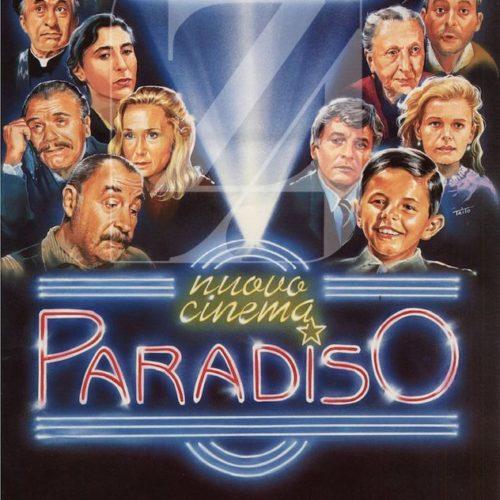 Locandina nuovo cinema paradiso
