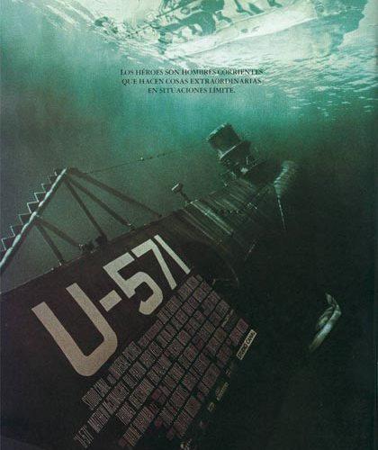 locandina U-571