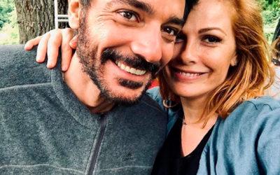 Vanessa Incontrada e Giuseppe Zeno sul set del film Angela