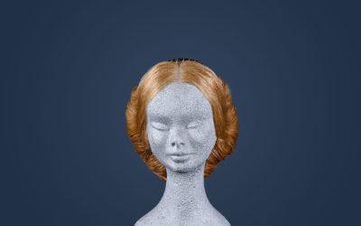 Parrucca 1800 stile Jane Austen