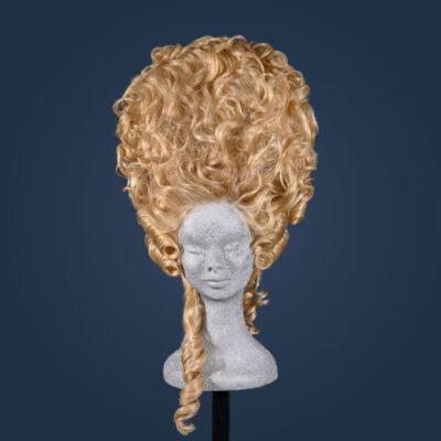 Parrucca stile Marie Antoinette