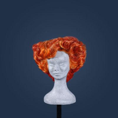 Parrucca '900 stile Gibson Girl