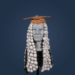 Parrucca stile Molière con copricapo