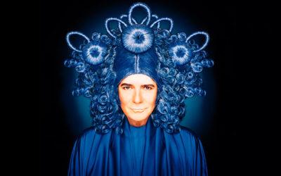 Renato Zero indossa le parrucche Rocchetti per la cover di Zero il Folle