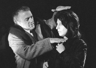Set del film Roma di Fellini con parrucche Rocchetti