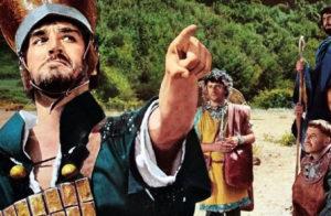 Scene de L'Armata Brancaleone con parrucche Rocchetti