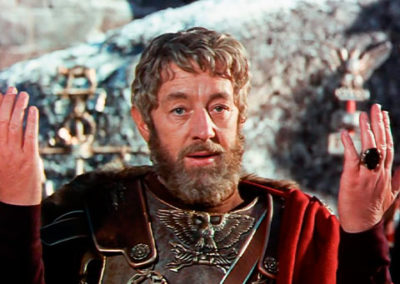 Film la caduta dell'impero romano con parrucche Rocchetti