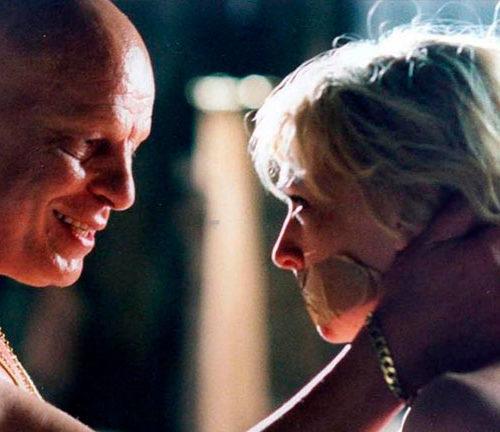 Scena del film La Sconosciuta con trucco Luigi Rocchetti