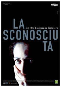 Locandina film La Sconosciuta con parrucche Rocchetti